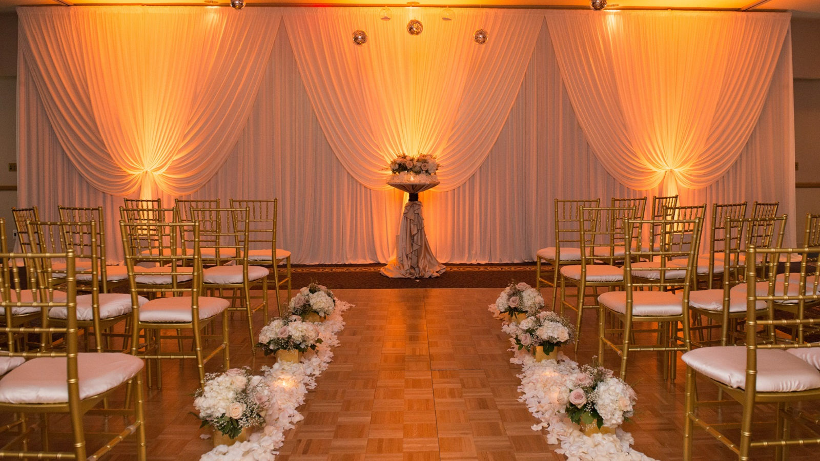 Elk Grove Wedding Aisle
